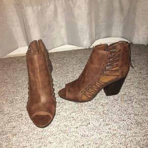 Rampage Shoes - Peep toe booties